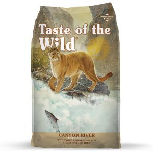 Taste Of The Wild Canyon River Gato