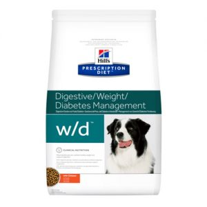 Hills Canine W/D Digestive / Weight / Glucose Mgmt.