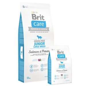 Brit Care Junior Large Breed Salmón