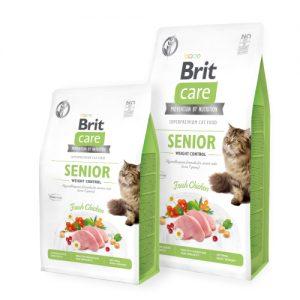 BRIT CARE CAT SENIOR WEIGHT CONTROL (Ex Angel)