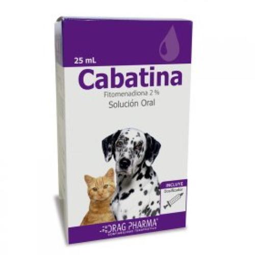 Cabatina 2 % Perros y Gatos 25ml