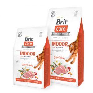 BRIT CARE CAT INDOOR ANTI-STRESS (Ex Monty)