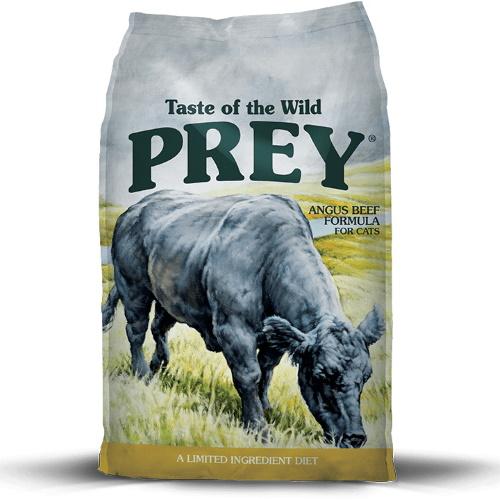 Taste Of The Wild PREY Formula Angus Gato