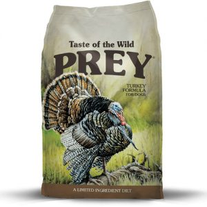 Taste Of The Wild PREY Formula Turkey Perro