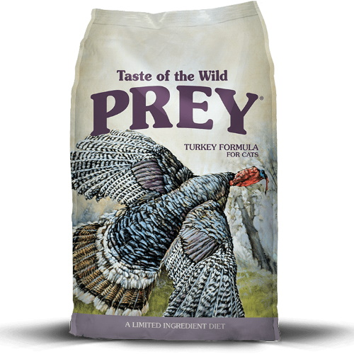 Taste Of The Wild PREY Formula Turkey Gato