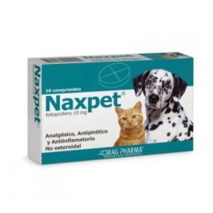 NAXPET 10 COMPRIMIDOS