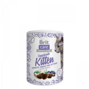 BRIT CARE SNACK SUPERFRUITS KITTEN