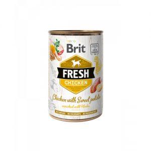 BRIT FRESH CHICKEN WITH SWEET POTATO LATA
