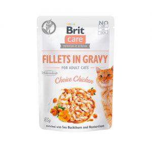 Brit Care Cat Pouch CHOICE CHICKEN in Gravy